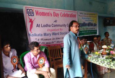 Women's day celebration at Lodha community