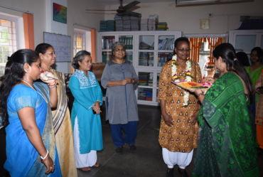 the IBVM Generalate Team from Rome,  Sr. Judith visits KMWSC