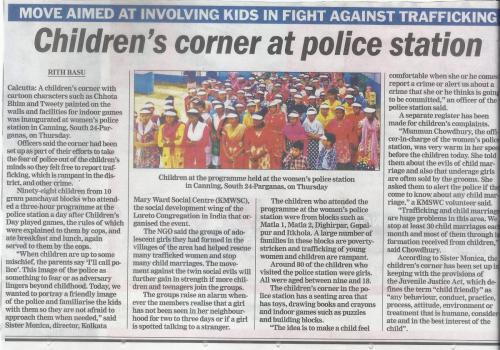Childrens Day Celebration at Canning Police Station